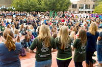Bid Day at Colorado State University