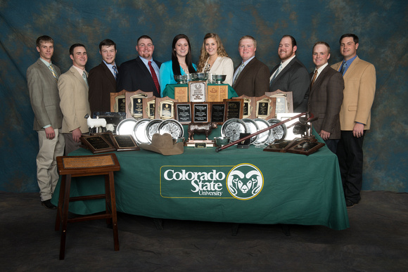 2014 Livestock Judging Team at Colorado State University